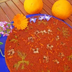 Up Side Down Flower Cake recipe