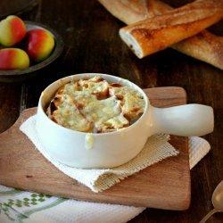 Au Gratin Cheese Soup