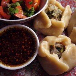 Momos - Tibetian Steamed Dumplings