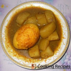 Egg and Potato Curry