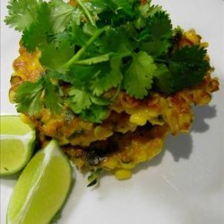 Asian Style Corn Cakes