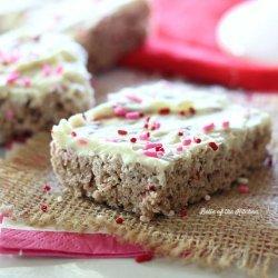 White Chocolate Krispies Treats