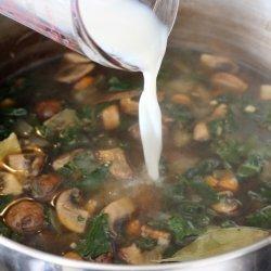 Quick Mushroom-Barley Soup Recipe - Details, Calories ...