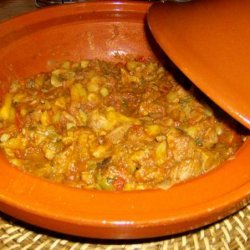 Beef With Peppers Tagine