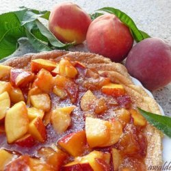 Peach Omelette Souffle recipe