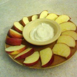 Awesome Cream Cheese Fruit Dip