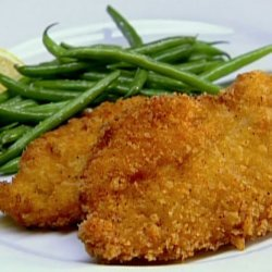 Chicken With a Mustard Crust