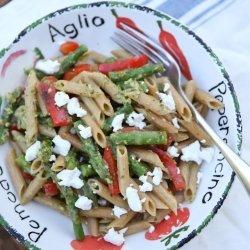 Vegetable Pesto Pasta