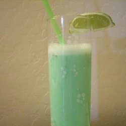 Lime Sherbet Fast Smoothie recipe