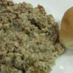 Hamburger Hotdish With Rice