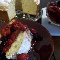 Bundt Cheese Cake With Strawberry Sauce recipe