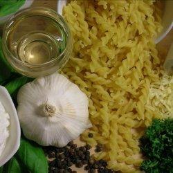 Creamy Pesto Pasta Italiana recipe