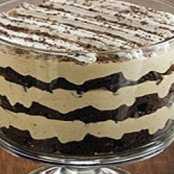 Tiramisu Brownie Trifle - Pampered Chef