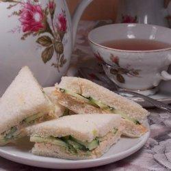 Cucumber and Dill Tea Sandwich