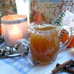 Hot Spiced Orange and Fruit Tea recipe