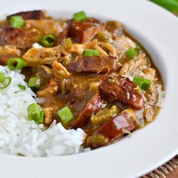 Chicken Gumbo With Smoked Sausage
