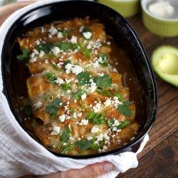 Enchiladas With Pumpkin Sauce