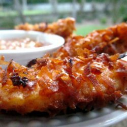 Cayenne Coconut Crusted Chicken