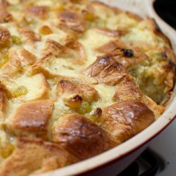Whiskey Bread and Butter Pudding