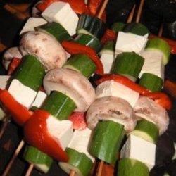 Healthy Vegetable Tofu Kebabs