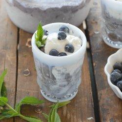 Dairy Free Blueberry Ice Cream