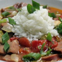Chicken and Andouille Sausage Gumbo Recipe