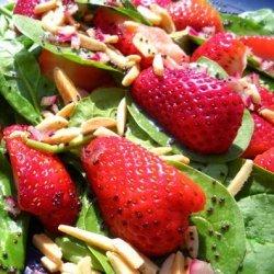 Strawberry Spinach Salad W/Poppy Seed Dressing