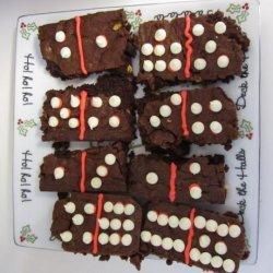 Domino Brownies recipe