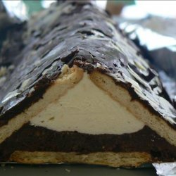 Pudding-Filled Biscuit Triangle recipe
