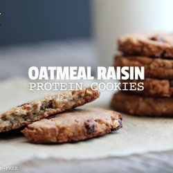 Gluten-Free Oatmeal Protein Cookies