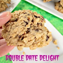 Double Date Delight Oatmeal Cookies
