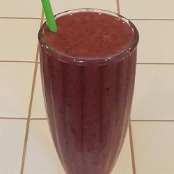 Berry Yummy Smoothie Shake