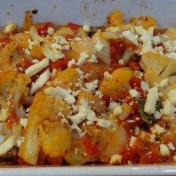 Cauliflower with Tomato & Feta