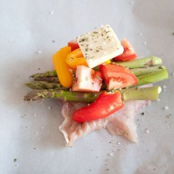 Red Snapper in Parchment Paper