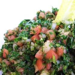 Authentic Tabbouleh