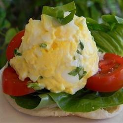 Tomato Basil Egg Salad Sandwich