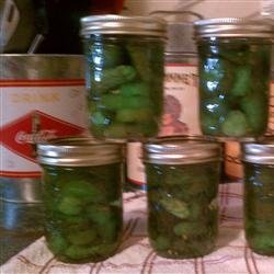 Eight-Day Icicle Pickles recipe
