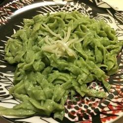 Unique Spinach Noodles