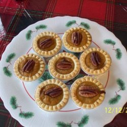 Petite Pumpkin Toffee Tarts