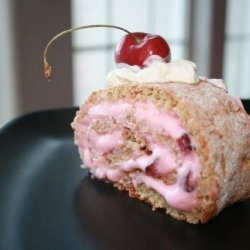Cherry-Almond Roll