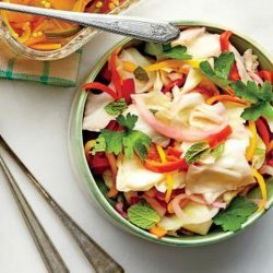 Cabbage & Pepper Slaw