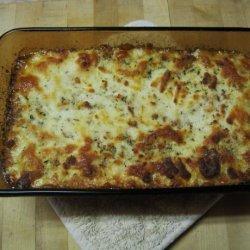 Low Carb Creamy 'Lasagna'