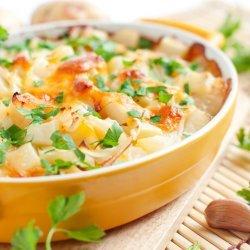 Cheddar Potato Casserole
