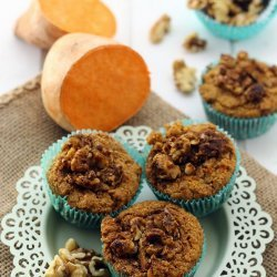 Gluten Free Vegan Sweet Potato Muffins