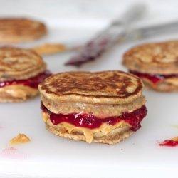 Peanut Butter and Banana Pancake Sandwiches