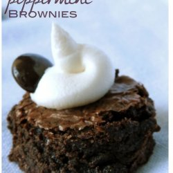 Junior Mint Brownies recipe