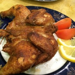Fried Cornish Hens
