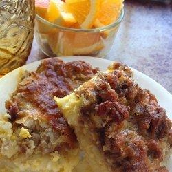 SIMPLE Breakfast Casserole.