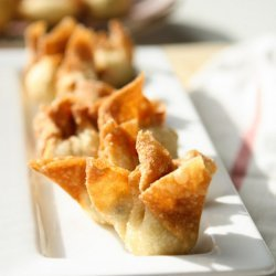 Smoked Salmon Rangoon