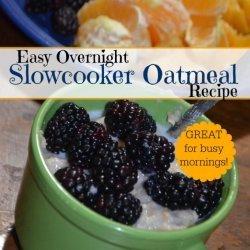 Easy Overnight Oatmeal